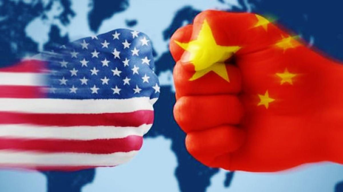 U.S. and China fists bump