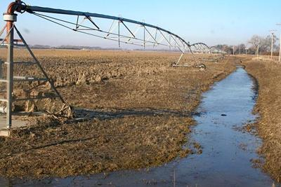 Saving flooded irrigation equipment requires diligence