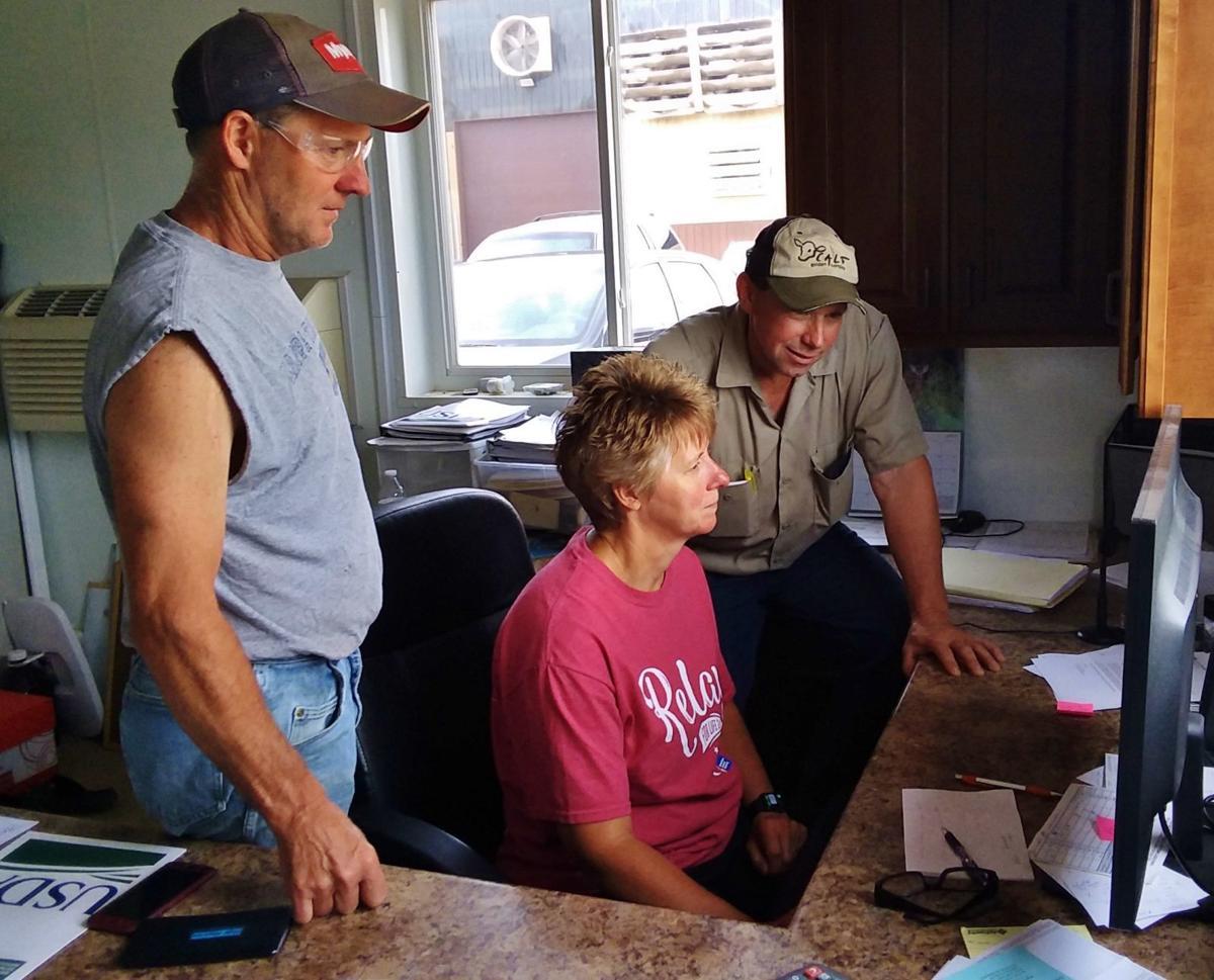 Chris, Kay and Jim Leick