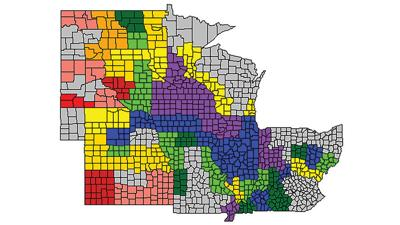 Average corn grain quality across the Midwest