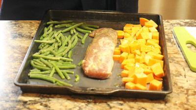 Pork Tenderloin Sheet Pan Dinner with Vegetables