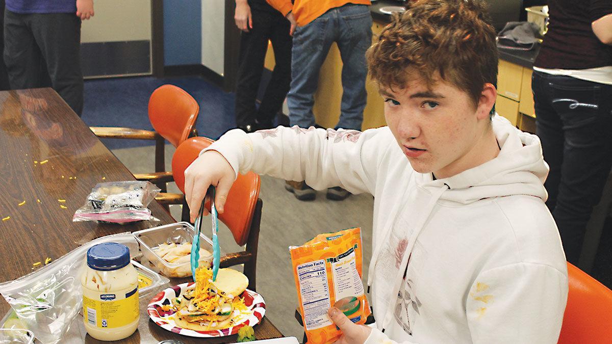 Payton Kraus 4-H Food Challenge