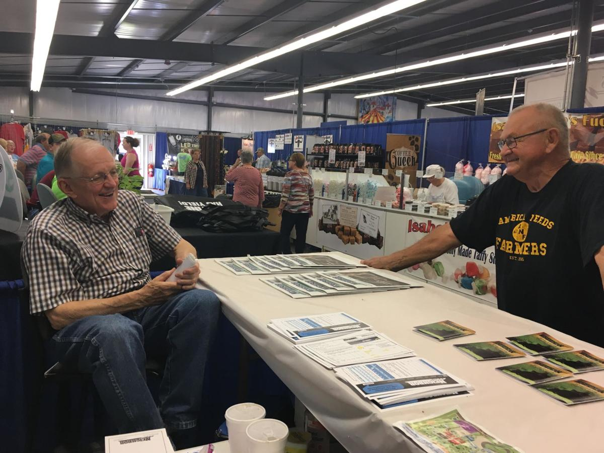 Woster Clay County Fair booth