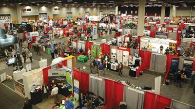 Iowa Pork Congress trade show