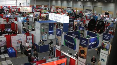 trade show at the Iowa Pork Congress