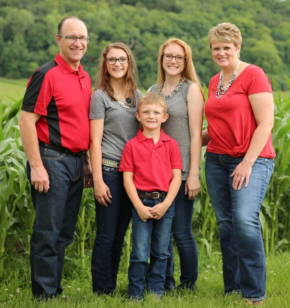 Mitch and Jacquie Breunig and family