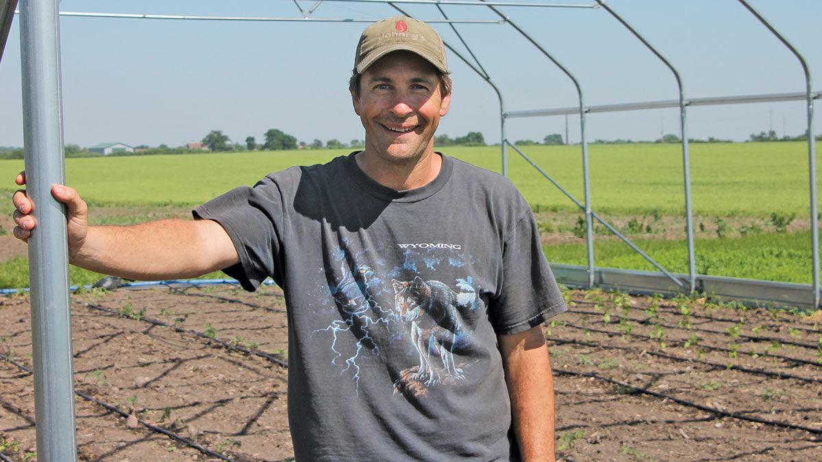 Middlebrook Farm manager Dan Fillius