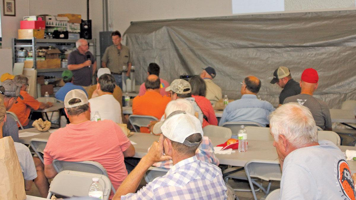 Continuing education cover crop field day