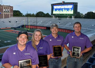 Kansas team wins weed science contest