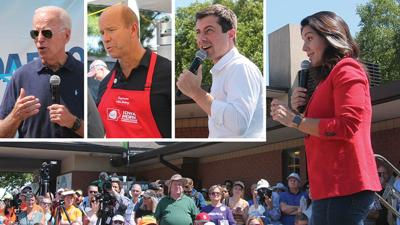 Candidates at IA State Fair