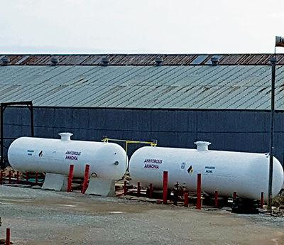 Anhydrous ammonia storage reaches council