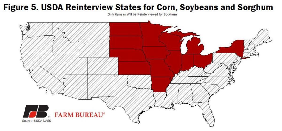 USDA reinterview states