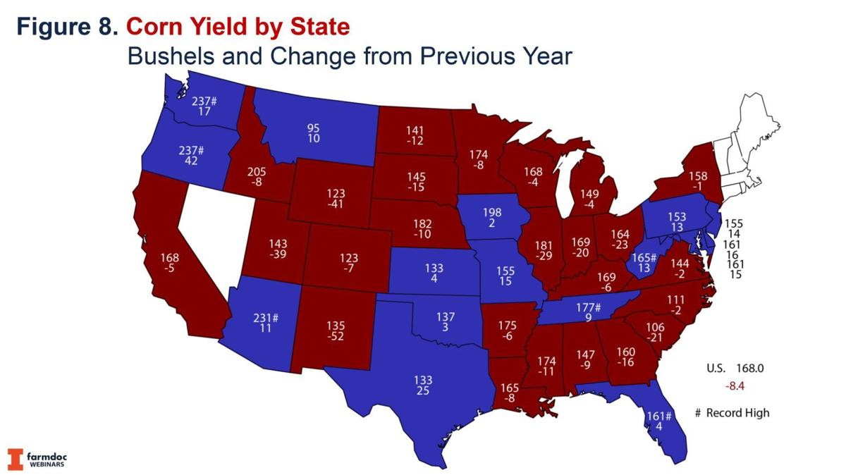 Corn Yield by State