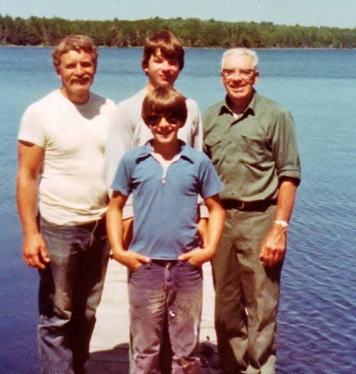 Chris, Bob, Kevin and Keith Hardie