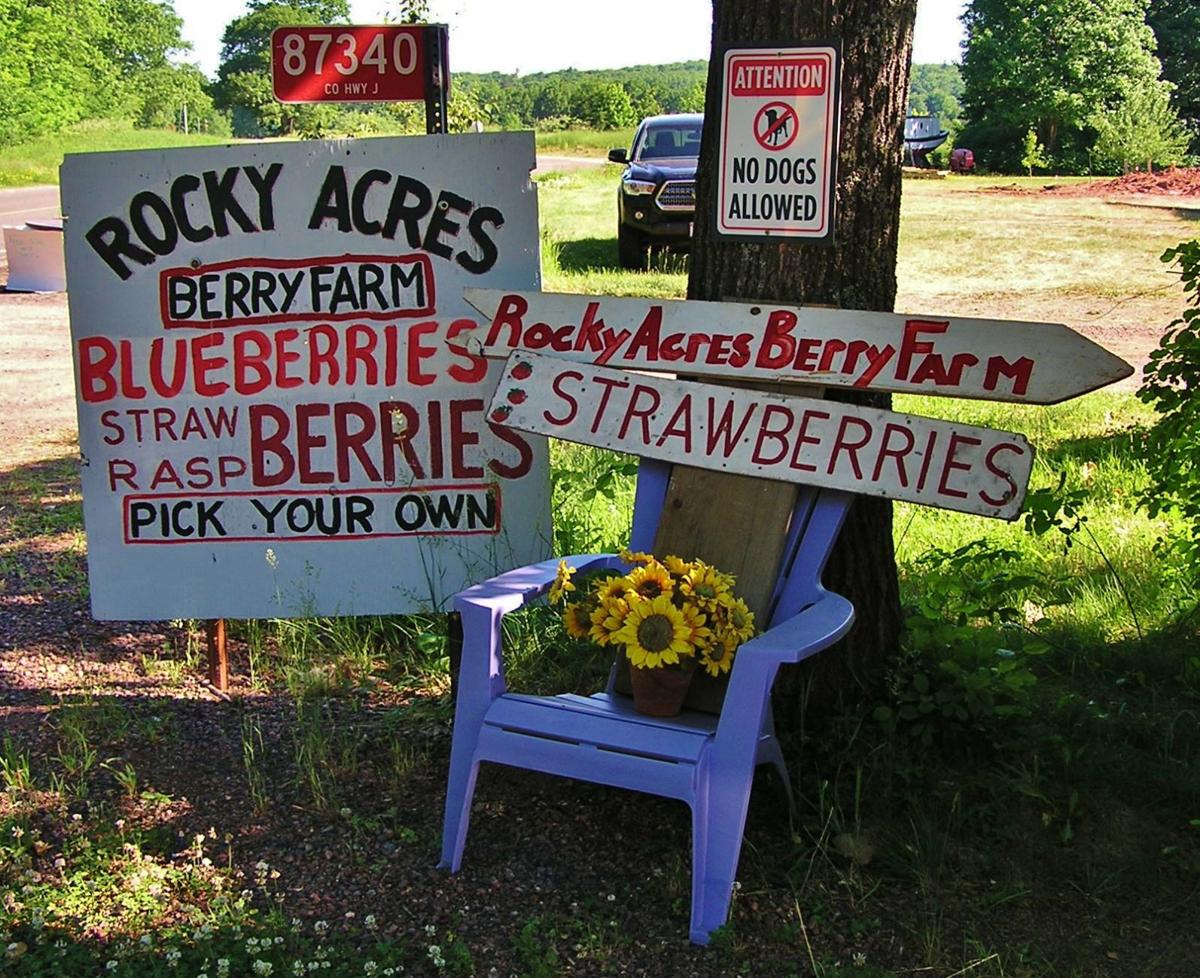Rocky Acres signs
