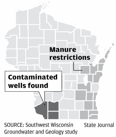 Contaminated wells found in southwest Wisconsin
