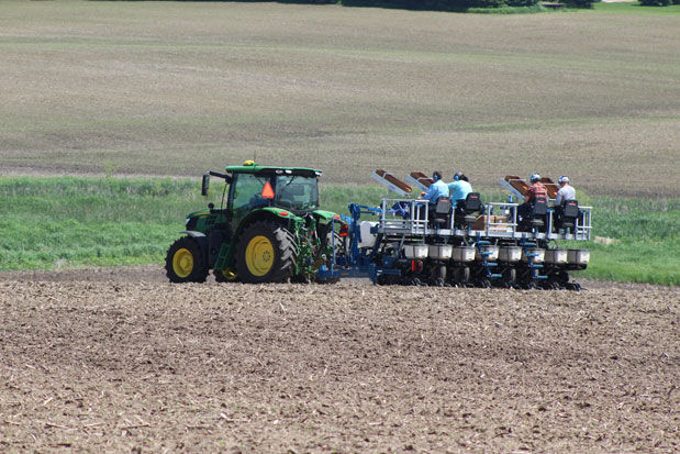 Seed test planting
