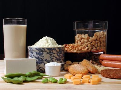 Soy foods add protein