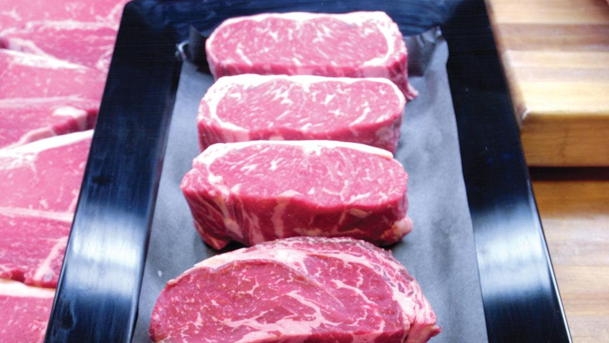 Cuts of beef from USDA