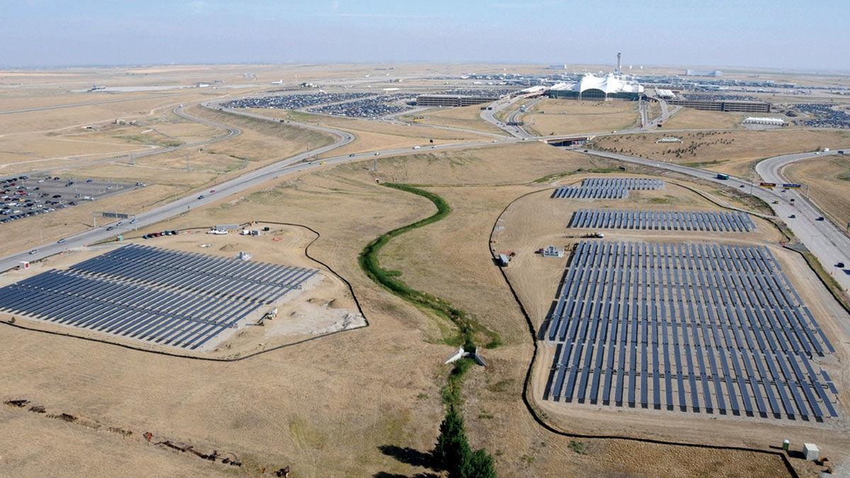 Commercial solar farms