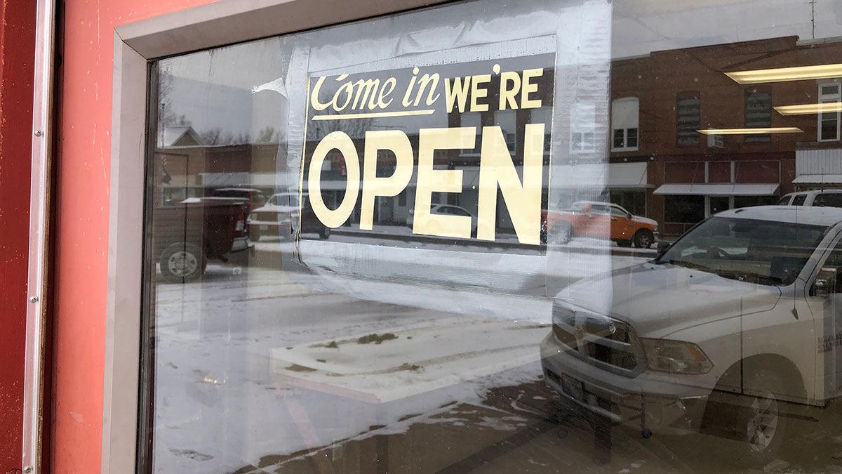 Open sign Missouri small business