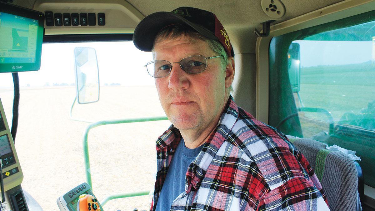 Henry County farmer Marc Benson