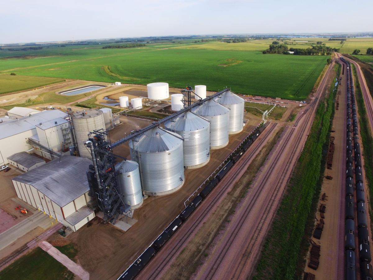 Ethanol plant shown