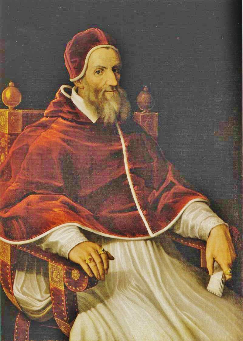 Pope Gregory declared a new calendar in 1582.