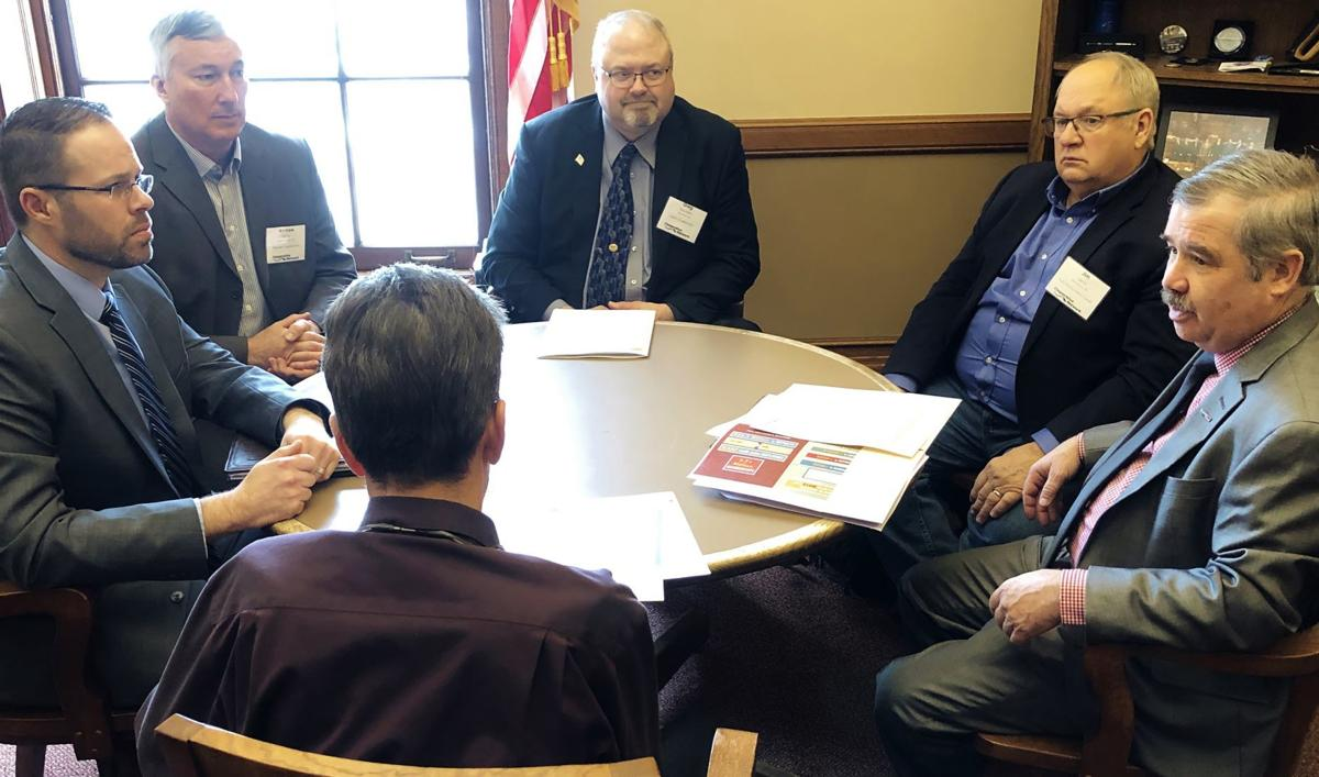 Cooperative Network visits Wisconsin Capitol