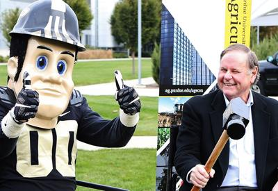 Wallace Tyner and Purdue Pete