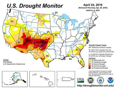 Rainfall beneficial for controlling Oklahoma wildfires | Crop ...