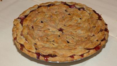 Girl Power Apple Blackberry Walnut Pie