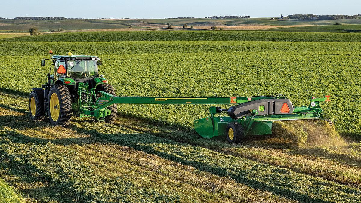 59116 John Deere hay equipment