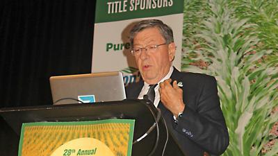 Argentinian agronomist Roberto Peiretti