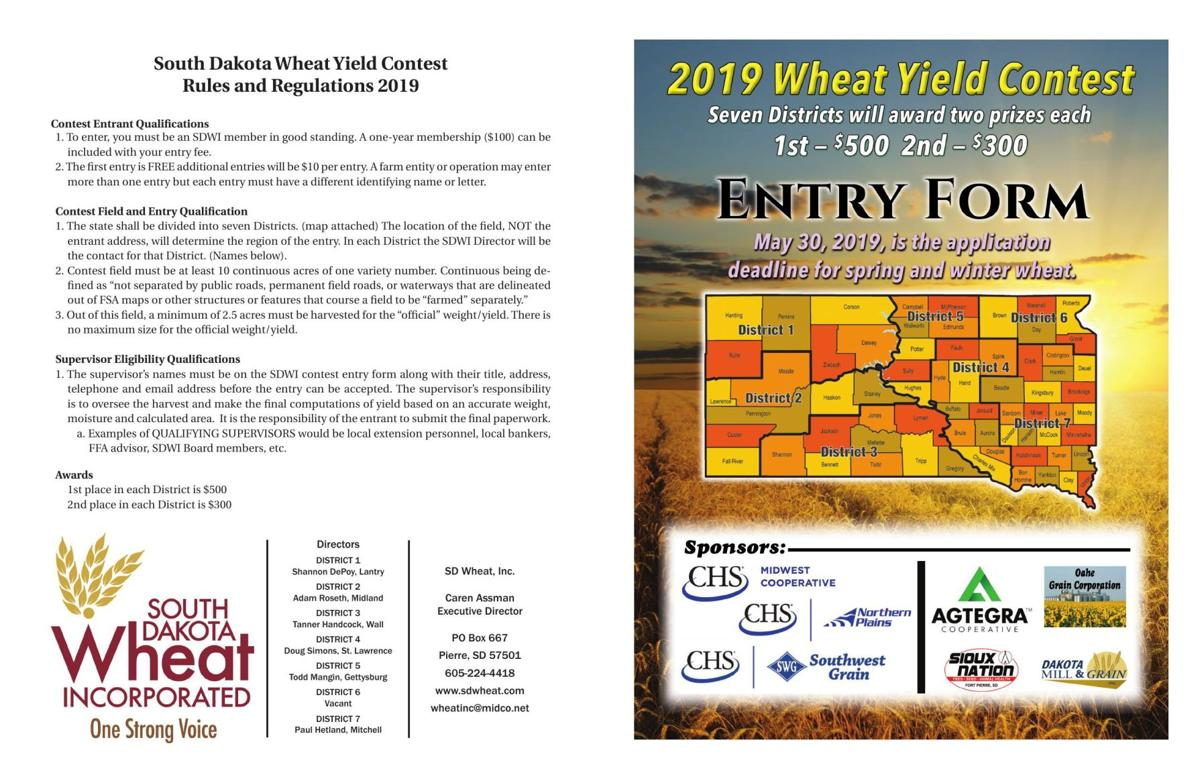 Wheat Contest form