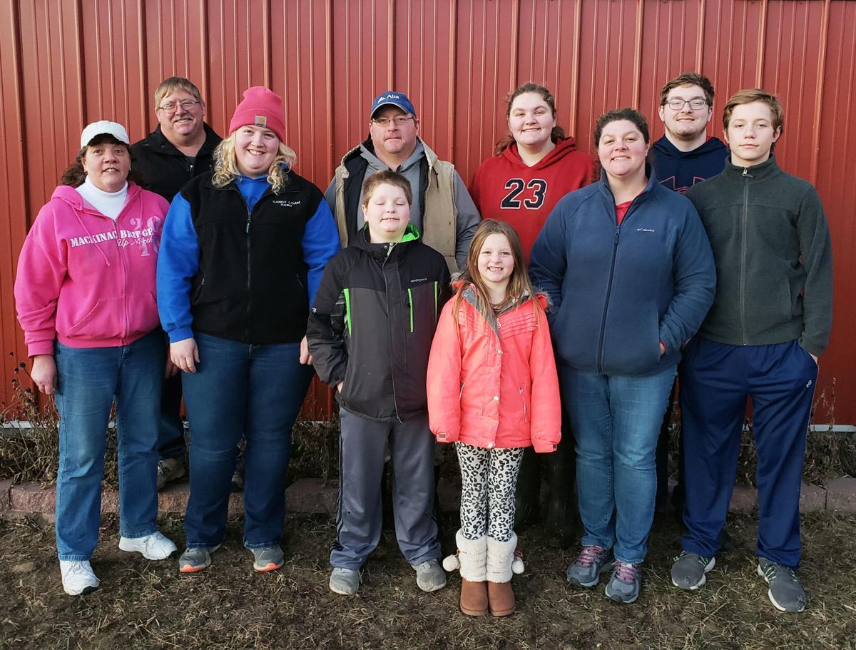 The Hamm family of Sandy Loam Farm