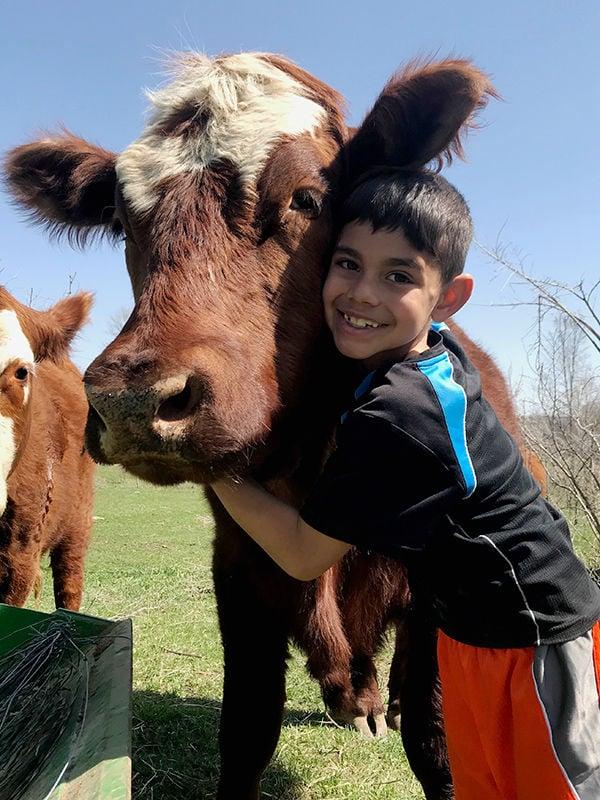 Barreras children livestock