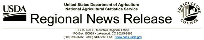 U.S. Department of Agriculture National Agricultural Statistics Service logo