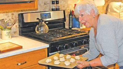 Rachel Wilson bakes her Cereal Nut Cookies