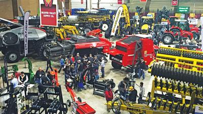 Western Farm Show equipment display