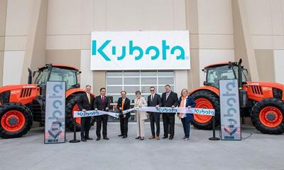 Kubota Tractor rolls out Expansive Logistics Campus in Edgerto