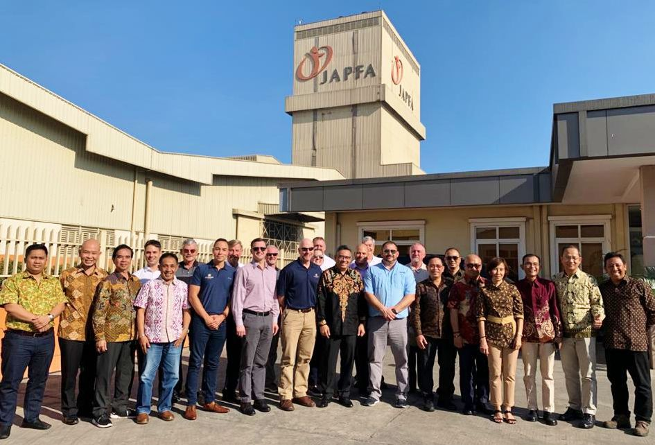 U.S. Grains Council and the National Corn Grower officials in Southeast Asia