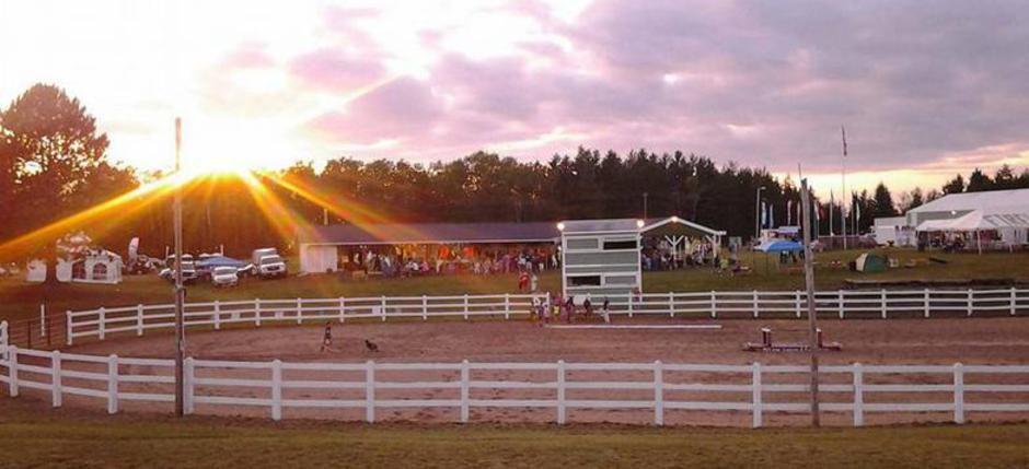 Sunset -- Florence County Fair