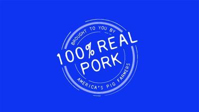Real pork logo