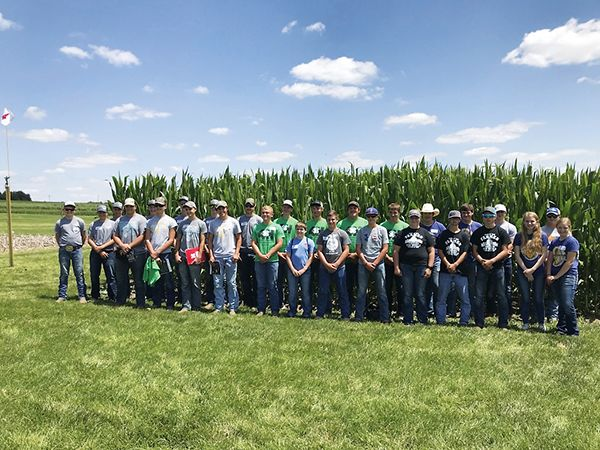 Youth learn crop scouting skills