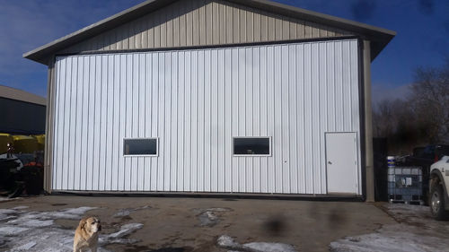 Lennie Holmer's completed Midland Door Solutions