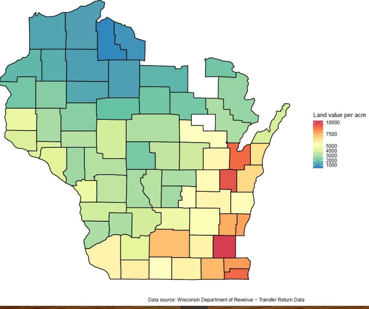 Land Value Per Acre