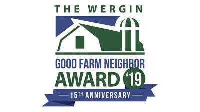 Wergin Good Farm Neighbor award