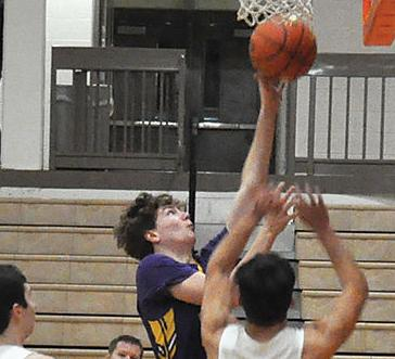 Boys hoops season ends with subdistrict loss