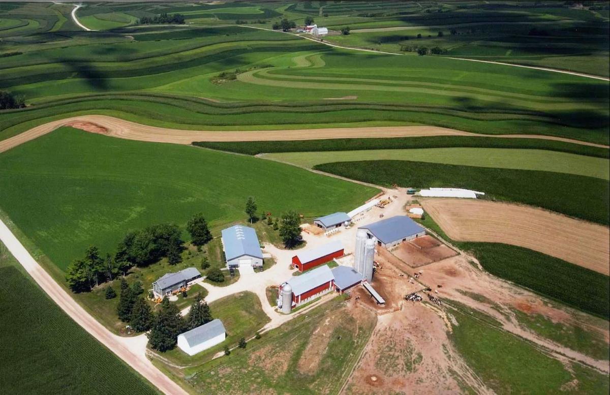 Rudrud farm aerial